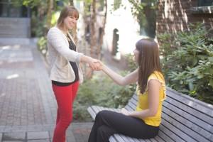 Help-handshake