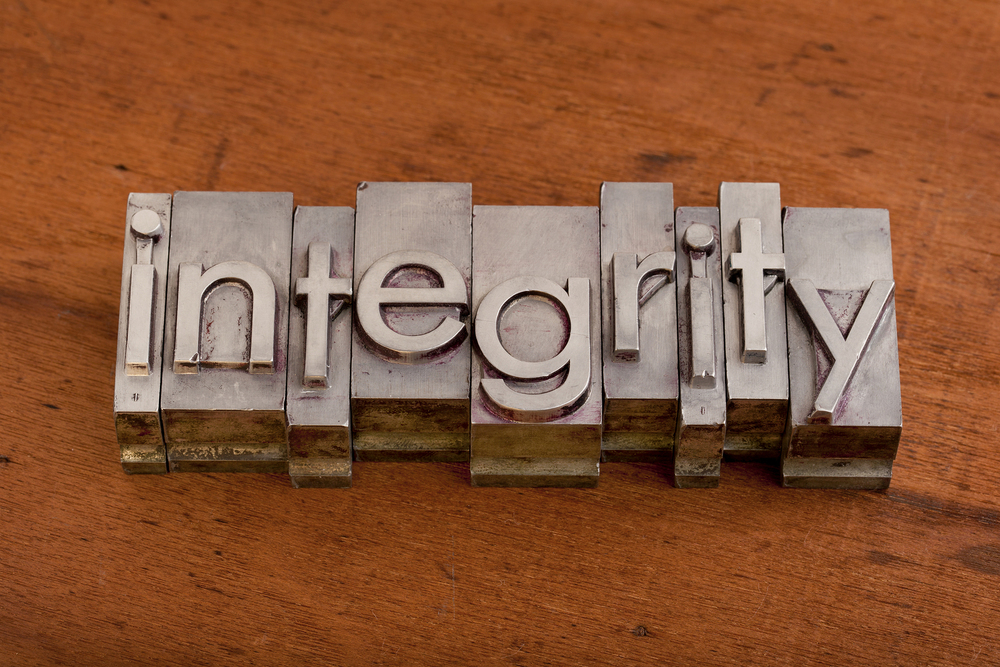 Business Success Will Come and Go, But Integrity Is Forever.