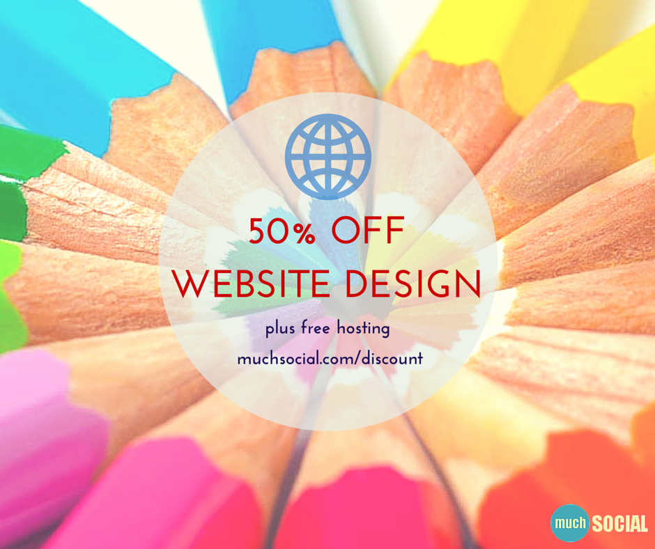 Web design discount muchsocial for Cheap home decor websites